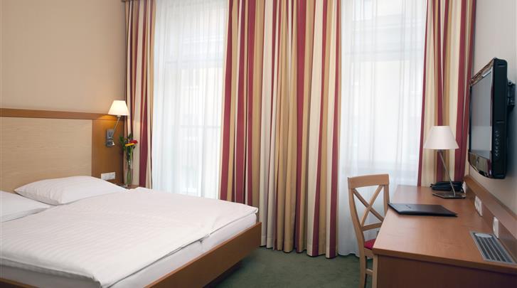 Wenen, Hotel Lucia, Standaard kamer