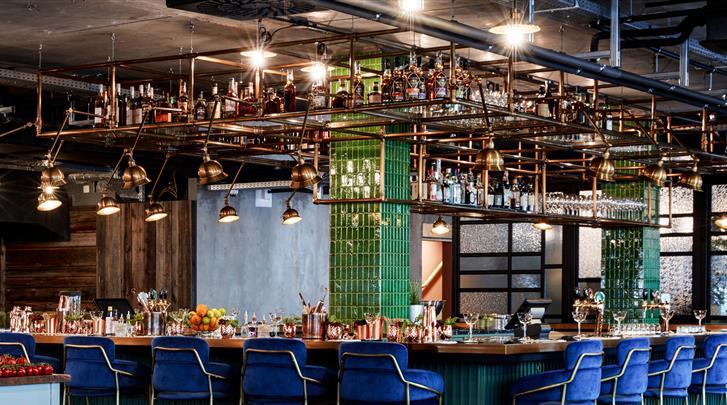 Wenen, Hotel Max Brown 7th District, Hotel bar