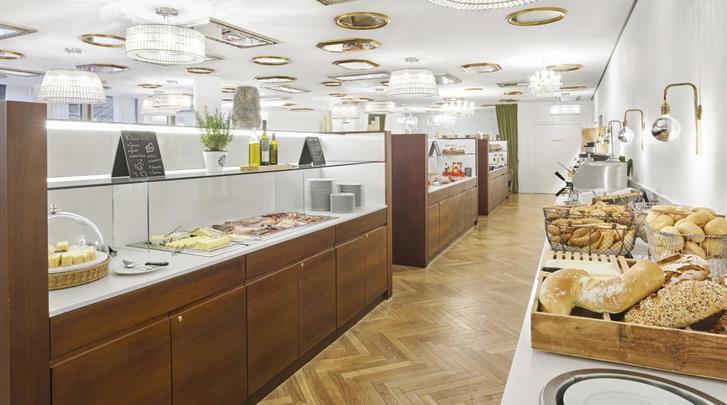 Wenen, Hotel MAXX by Steigenberger Vienna, Ontbijtruimte