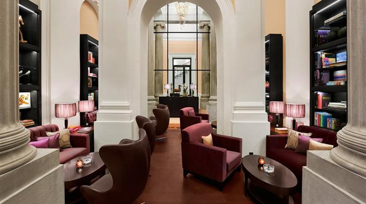 Wenen, Hotel Palais Hansen Kempinski, 'Cigar Lounge'