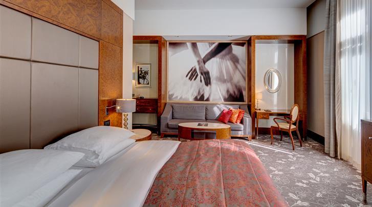 Wenen, Hotel Palais Hansen Kempinski, Deluxe kamer