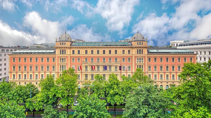 Wenen, Hotel Palais Hansen Kempinski, Façade hotel