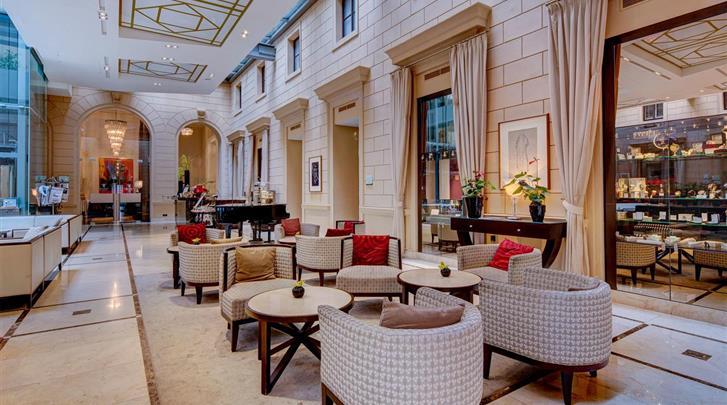 Wenen, Hotel Palais Hansen Kempinski, Lobby