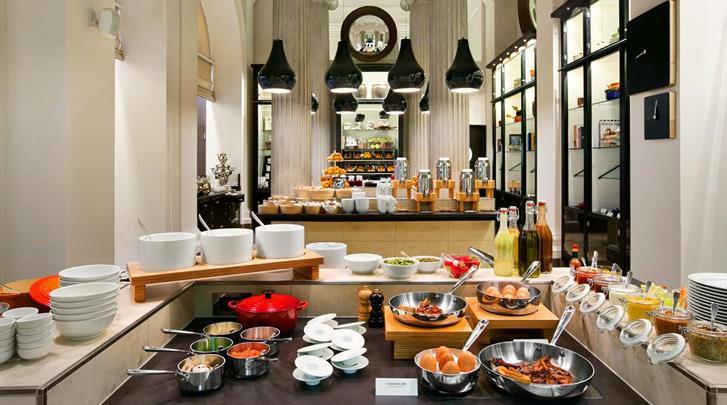 Wenen, Hotel Palais Hansen Kempinski, Ontbijtbuffet