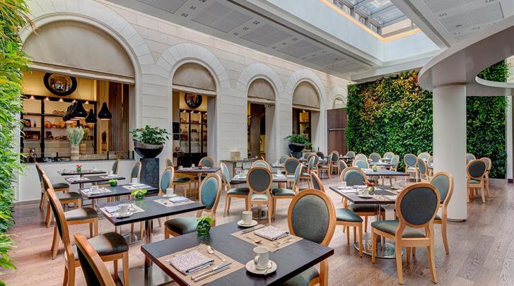 Wenen, Hotel Palais Hansen Kempinski, Restaurant 'Die Küche'