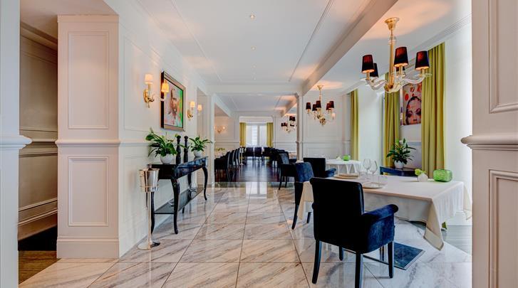 Wenen, Hotel Palais Hansen Kempinski, Restaurant 'Edvard'