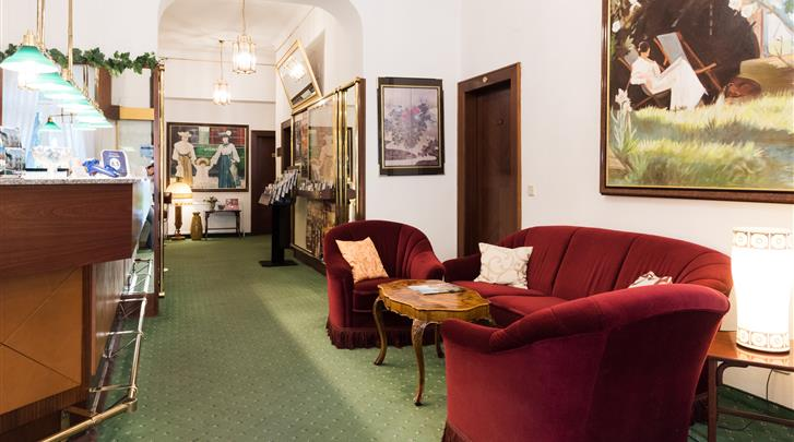 Wenen, Hotel Park Villa, Receptie