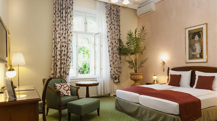 Wenen, Hotel Park Villa, Standaard kamer