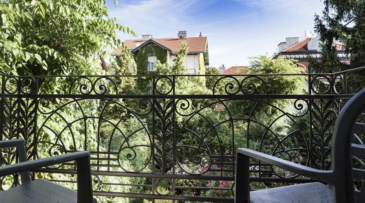Wenen, Hotel Park Villa, Superior kamer, deels met balkon