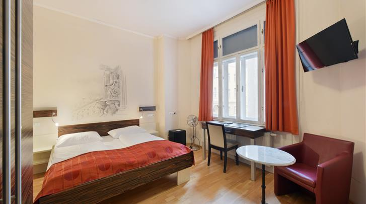 Wenen, Hotel Pension City Rooms, City kamer