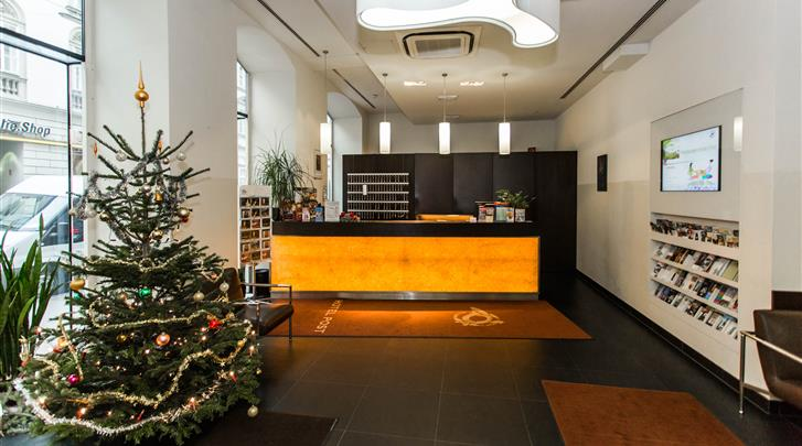 Wenen, Hotel Post, Receptie