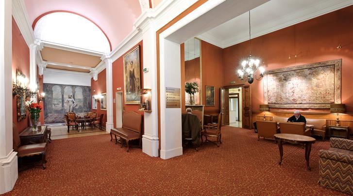 Wenen, Hotel Regina, Lobby
