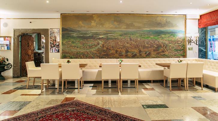 Wenen, Hotel Royal, Lobby