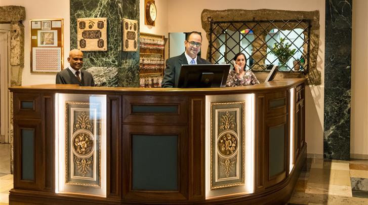 Wenen, Hotel Royal, Receptie