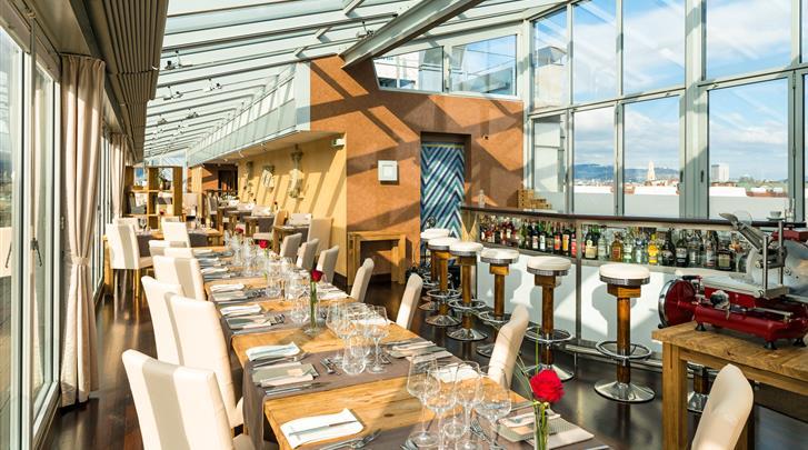"""Wenen, Hotel Royal, Restaurant 'Settimo Cielo"""""""