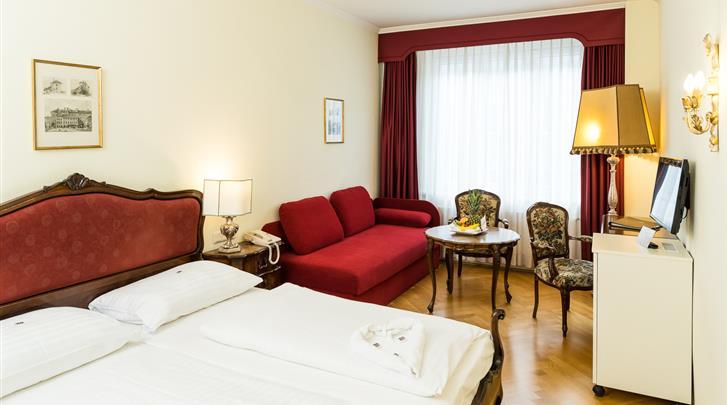 Wenen, Hotel Royal, Standaard kamer