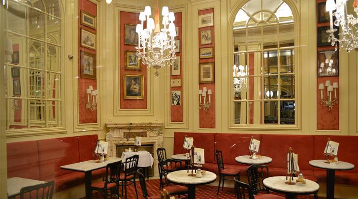 Wenen, Hotel Sacher, Café Sacher