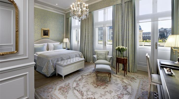 Wenen, Hotel Sacher, Deluxe kamer