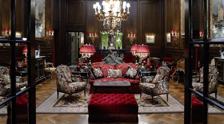 Wenen, Hotel Sacher, Lobby