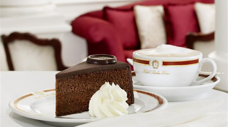 Wenen, Hotel Sacher, Original Sacher Torte
