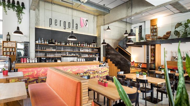 Wenen, Hotel Zeitgeist, Café-Bar 'Pergola'