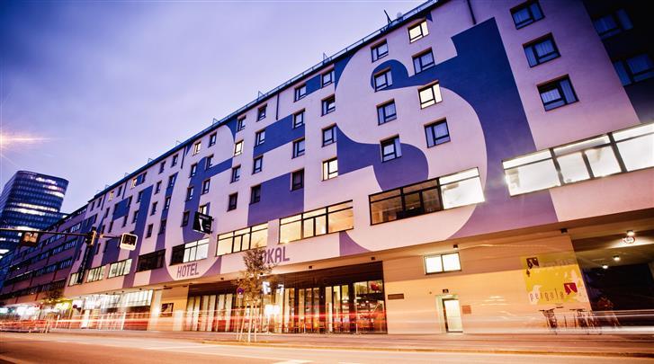Wenen, Hotel Zeitgeist, Façade hotel