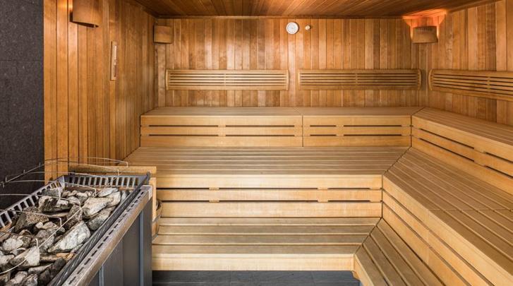 Wenen, Hotel Zeitgeist, Sauna