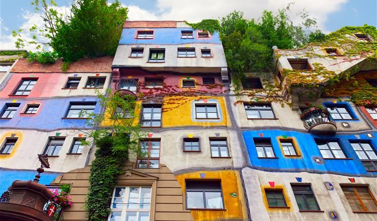 Wenen, Hundertwasserhaus