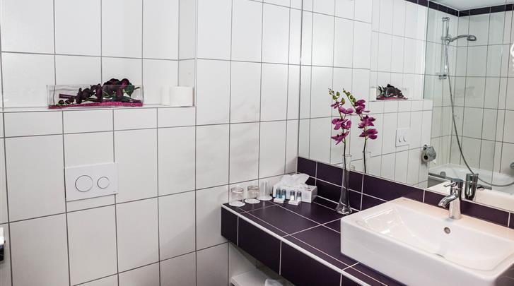 Wenen, Arthotel Ana Boutique Six, Badkamer